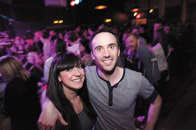 Wife and husband owners Karli and Caleb Ingersoll at the Bartlett. - YOUNG KWAK