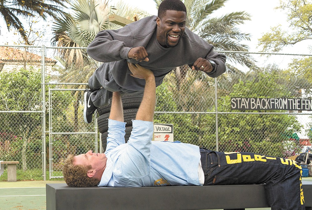 Will Ferrell and Kevin Hart trying to be funny in a mostly unfunny film.