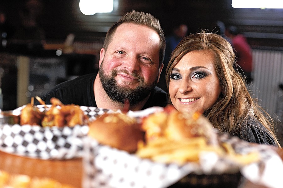William Webster and his wife Cody Webster opened Webster's Ranch House Saloon two weeks before their wedding. - YOUNG KWAK