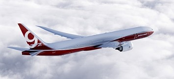 The 777x plane, with first expected delivery in 2020. - BOEING
