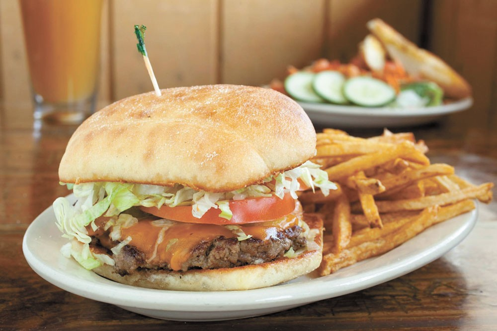 You can bulk up for football season at the Screaming Yak, even if you're just watching on TV.