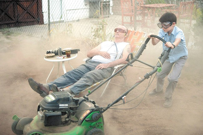 You'd mow Bill Murray's dirt patch if he asked. Admit it.