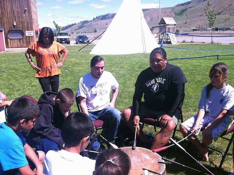 Youth Warrior Camp on the Colville Indian Reservation. - DEANNA PAN