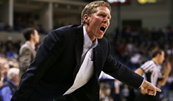 Mark Few and the Zags look to wrap up the WCC regular season title tonight at BYU. - YOUNG KWAK PHOTO