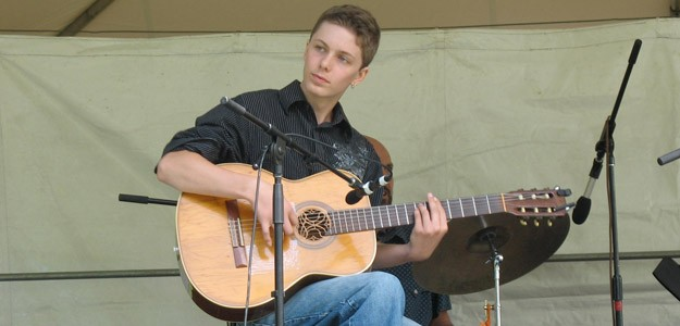 Alden Ryan at the 2010 Valley Stage Music Festival