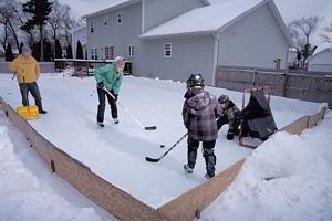 Backyard Skating Rink
