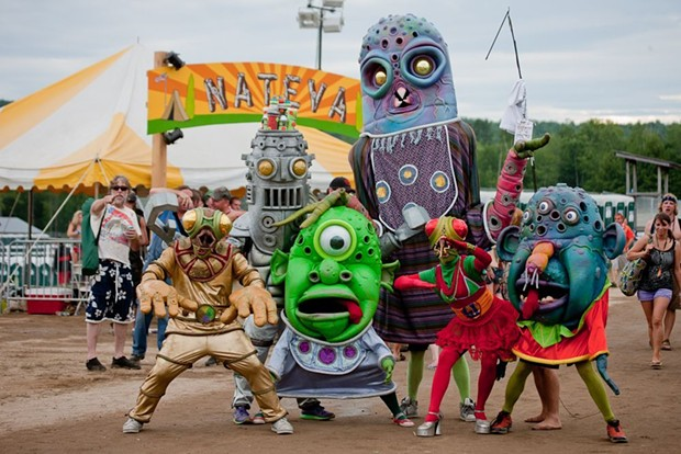 Big Nazo Band, one of the acts at Festival of Fools