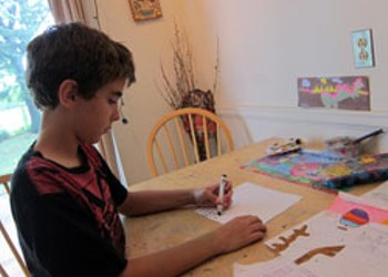 Behind the Coloring Contest Curtain: Meet Bryan Ford