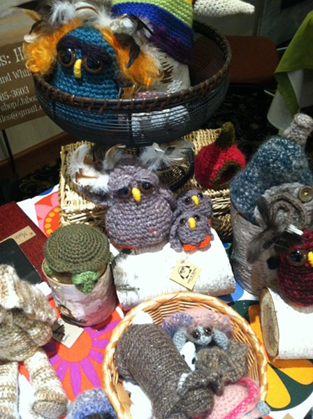 The woolen creations of Jabo and Belles: Handmade.