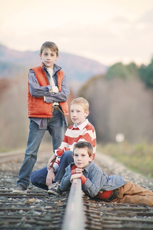 Chandler, Chase and Charlie Lehman - PHOTO BY LUANN BAILEY PHOTOGRAPHY