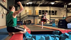 Superhero Gymnastics for Preschool Boys