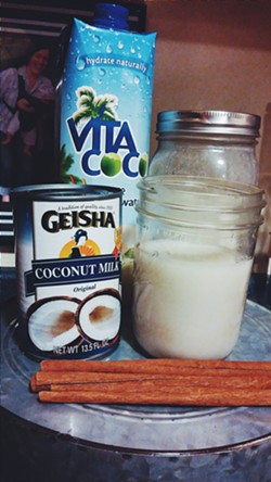 Horchata ingredients - SAM SIMON