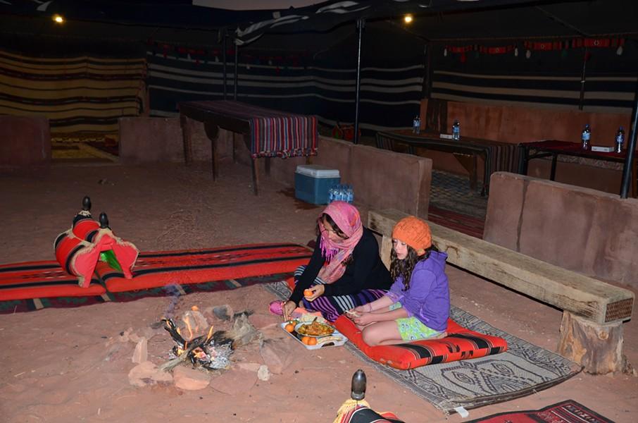 Eating Bedouin-style - JESSICA LARA TICKTIN