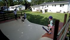 Building a Backyard Skate Ramp