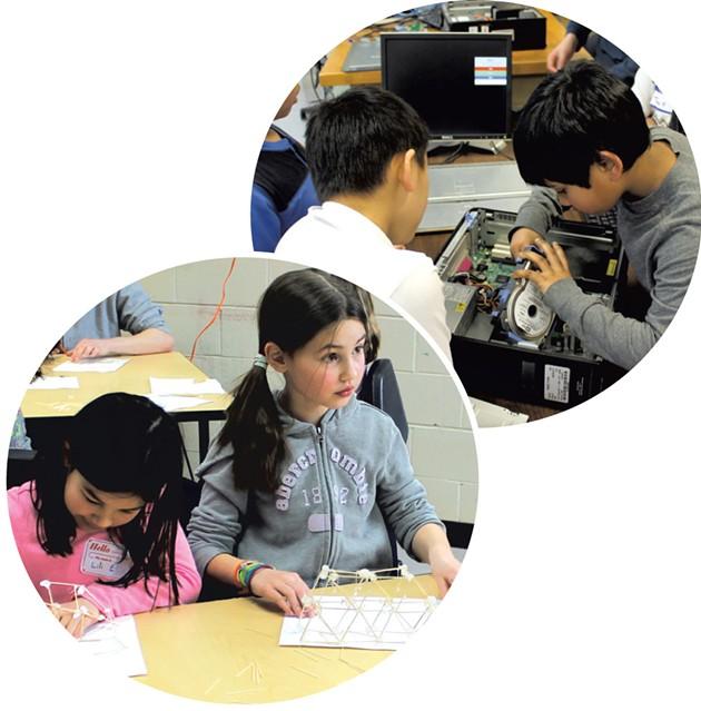 High School Kids Teach STEM And Business Workshops