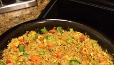 Home Cookin': Fried Brown Rice