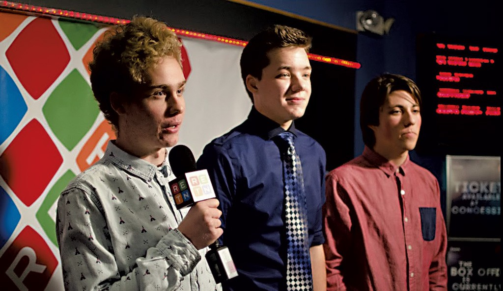 Kayhl Cooper, Connor Geer and Adam Turner took home an award last year for Best Cinematography. - COURTESY OF TOM PRESKA