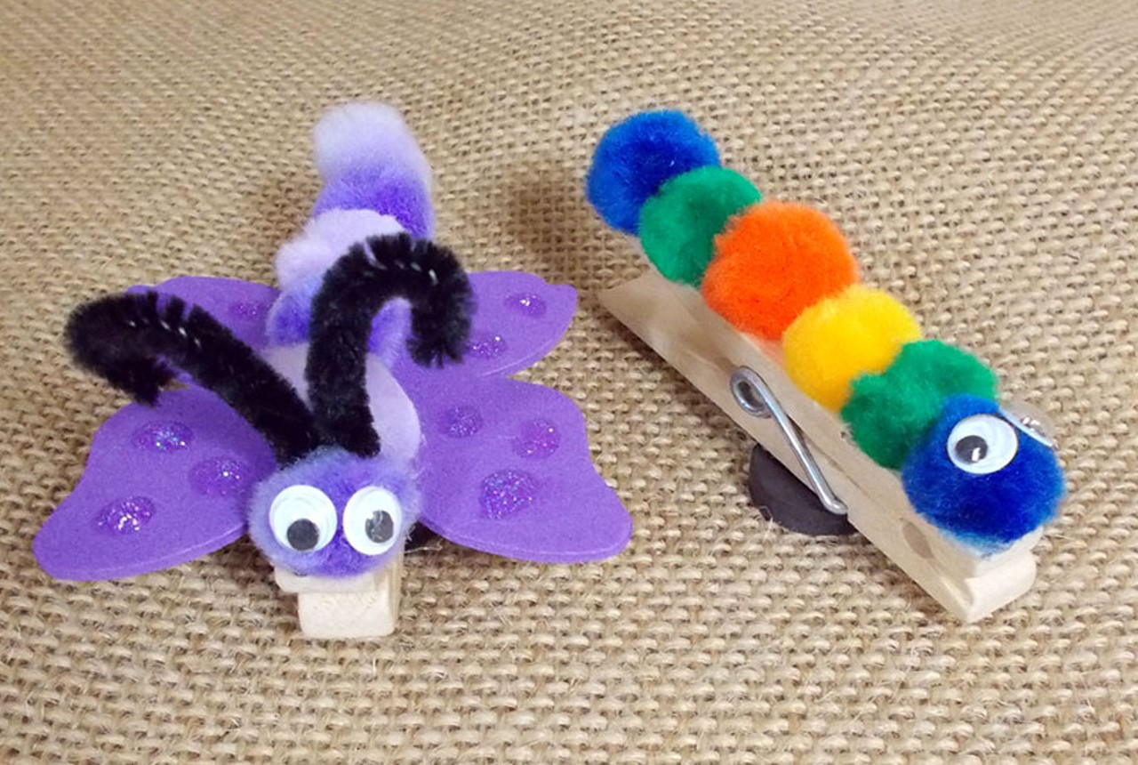 pics photos   creative clothespin crafts for kids