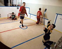 Knee-Hockey Rink