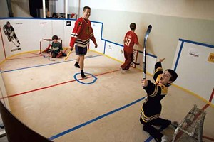 Knee-Hockey Rink