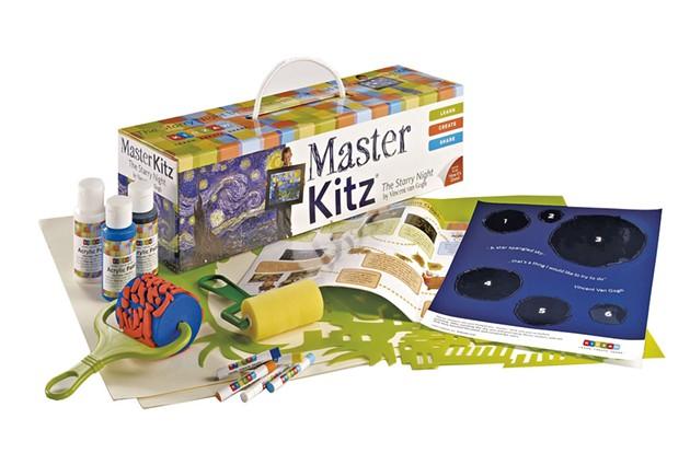 Master Kitz, $35 at Woodbury Mountain Toys