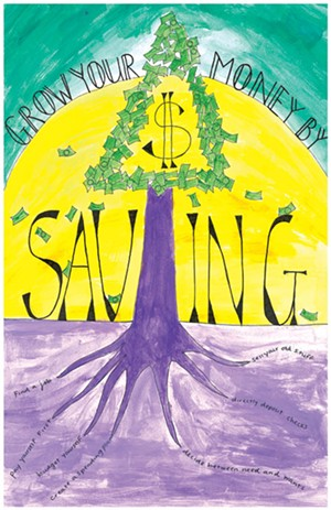 Montpelier High Schooler Allison Lau's poster won first place in the 10th- to 12th-grade division