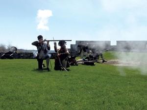 Musket demonstration