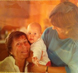 Not sure how to illustrate this story. So here's a gratuitous baby photo of me, with my grandmother and mum.