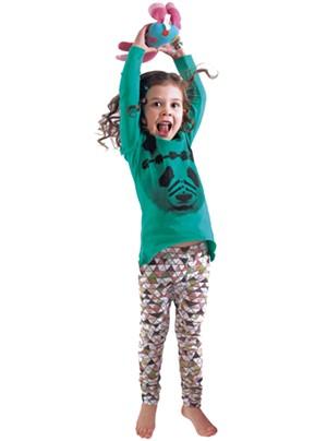 On Lienna: Munster kids Warrior top, $40. Mini & Maximus Mountain leggings, $35 at Minou Kids.