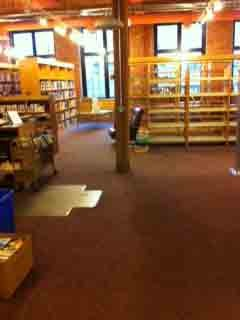Packing up the library on December 14