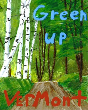 Poster Design by: Willis Page, Blue Mountain Union School, grade 9