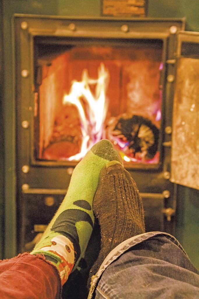Romance by the fire - MEGAN JAMES