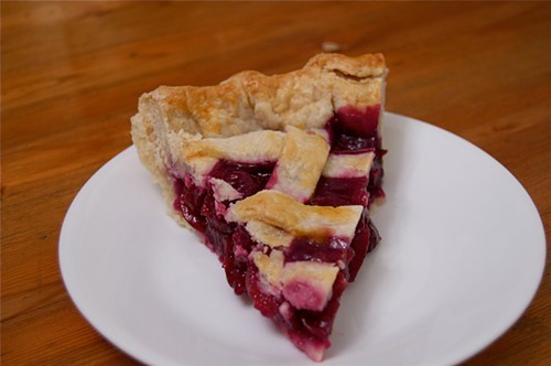 Sweet Cherry Pie - PHOTO BY CAROLYN FOX
