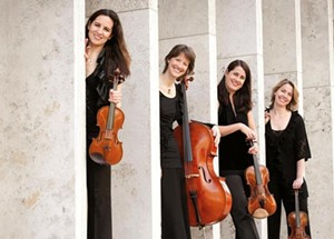 COURTESY PHOTO - The Lark Quartet