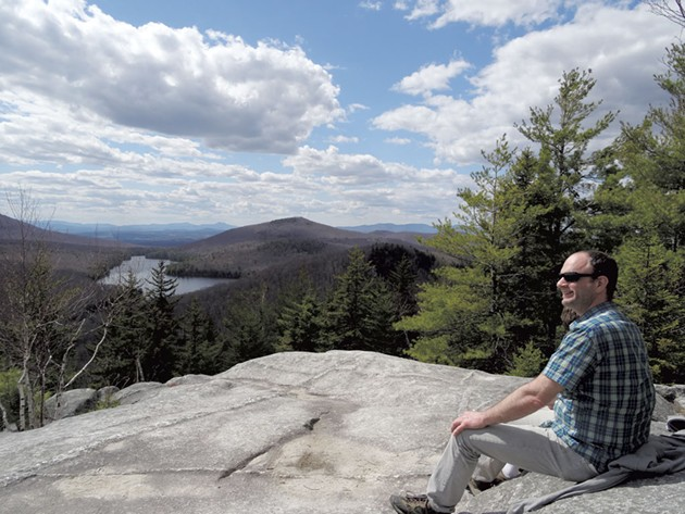 The top of Owls Head at Groton State Forest - COURTESY OF LAURA SORKIN