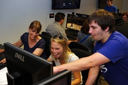 Showcasing games built during the Game Academy's first session - CHAMPLAIN COLLEGE