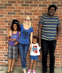 The family - GOLDSTEIN/HACKNEY