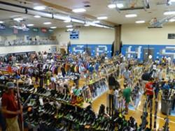 South Burlington High School's Ski Swap