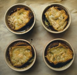 French onion soup - SAM SIMON