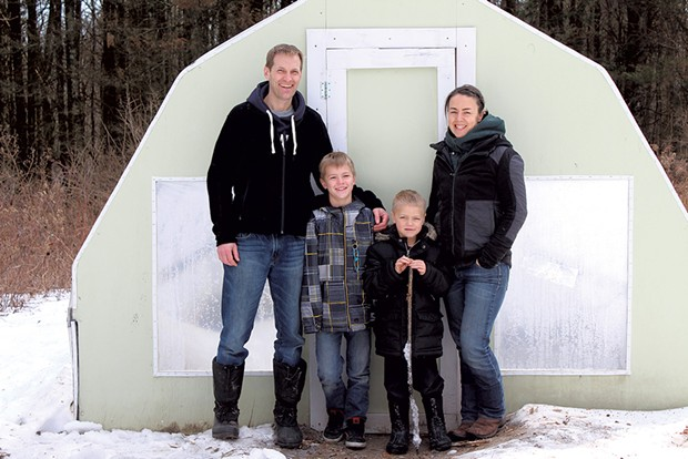 Parents:Jack and Jillian Zeilenga - Kids: Sons Caelan, 9, and Elliot, 6 - TRISTAN VON DUNTZ