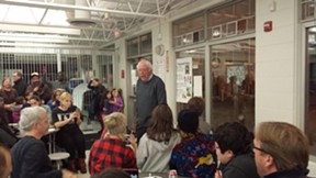 Sen. Bernie Sanders at Integrated Arts Academy