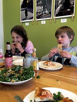 Dinner at the Starving Artist Café - ALISON NOVAK