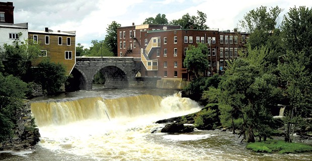 Middlebury Falls - JEB WALLACE-BRODEUR