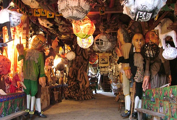 Bread and Puppet Museum - COURTESY OF BREAD AND PUPPET THEATER