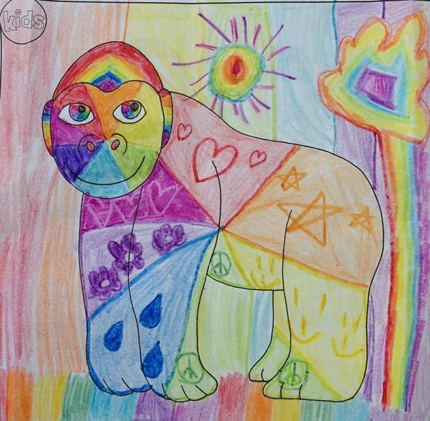 The Rainbow Monkey