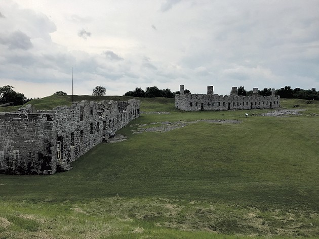 The forts' remains - COURTESY OF BENJAMIN ROESCH