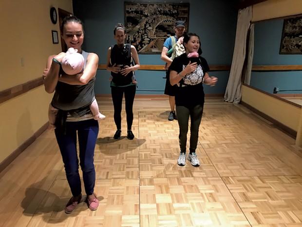 GroovaRoo dance class - COURTESY OF KRISTEN RAVIN