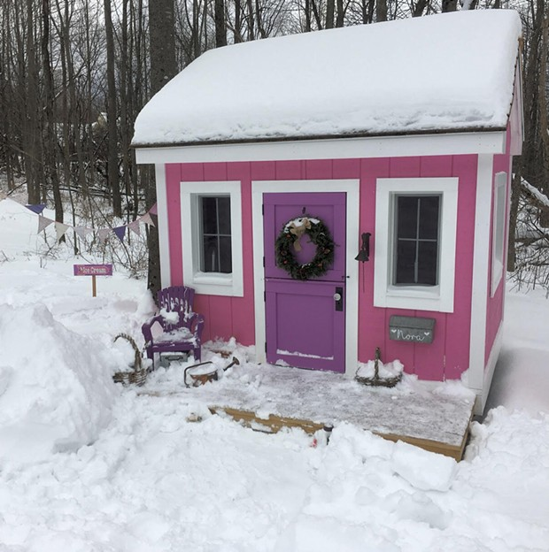 The Little Pink House - COURTESY OF JAMIE CUDNEY