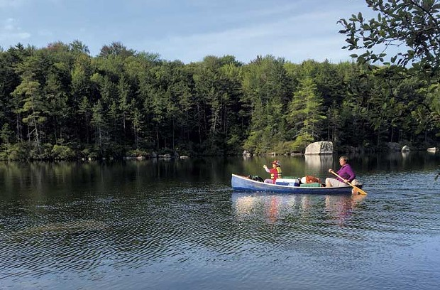 Kettle Pond in Groton State Forest - CATHY RESMER