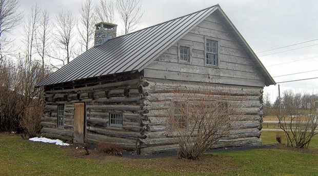 Hyde Log Cabin - COURTESY IMAGE